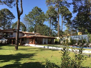 Excellent opportunity, Rent a magnificent house in Valle de Bravo/ Avandaro