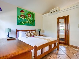 Villa with Private Beach and Pool Access in Maya Beach