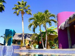 CASA COLORES - Beautiful home only minutes away from best beaches and downtown