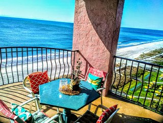 #1 Breathtaking Oceanfront Location, 2 balconies, Wifi, Walkable, Spring Special