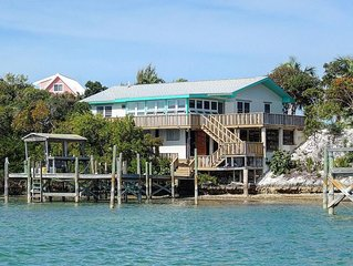 Snorkel and swim right off shore on the north side of your rental property, and