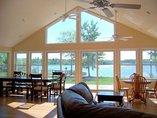 Sunset Beach House-Lakefront/Private Beach/Dock-S. Haven/Saugatuck*BOOK 2019*