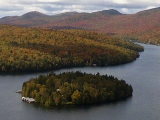 Rent your own island on Lake Placid!