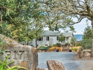 4 bedroom home at the gateway to Alexander Valley.