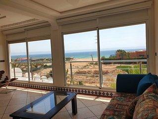 Family Villa in Imi Ouaddar Beach Off 30 km from Agadir