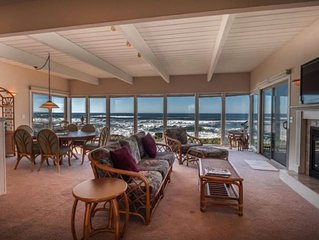 OCEAN front, beach home with STUNNING VIEWS Pajaro Dunes Watsonville