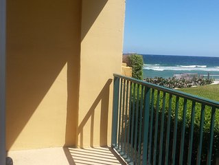 Wonderful location right on the beach! Walking distance to restaurants.