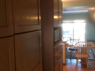 Spectacular Waterfront Furnished One Bedroom With Amazing Sunsets Deck And Yard
