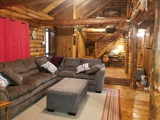 Log Cabin - Cozy 1 Mile To Festivals and Slopes