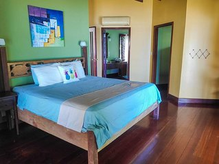 Casa Del Mar - Room Zapatilla - Sea view - King size bed