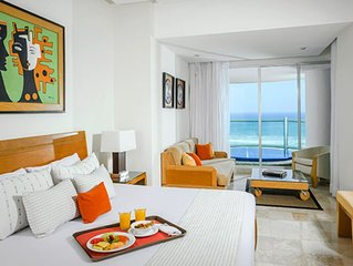 Vidanta Grand Mayan 1 BR 1 BA Suite With Kitchen Sleeps 6 - Acapulco