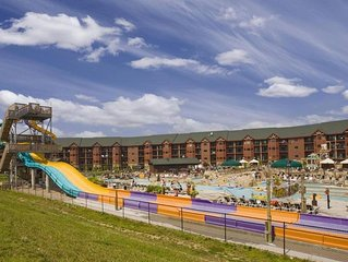 Wyndham at Glacier Canyon Resort Condo/Lodge and Waterpark - 1Bd Dlx - Sleeps 4
