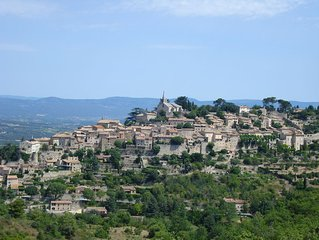 Experience Village Life in our Bonnieux Apartment