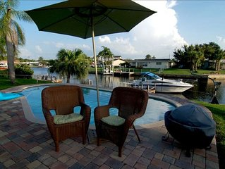 Quaint Waterfront Home with Heated Pool Just Minutes to the Beach
