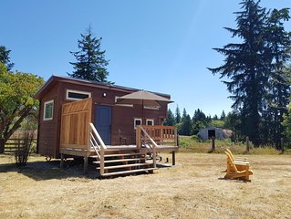 The Tiny House at Malahat Farm