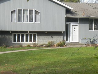 Single Family house on 1.25 acre lot