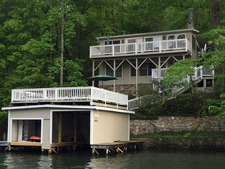 Waterfront Home: Great View + Quiet Cove Swimming -
