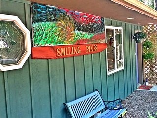 Smiling Pine B&B secluded setting in beautiful Eureka Springs