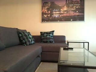 Parkside Apartment in Baltimore's Best Location across from Peabody Conservatory