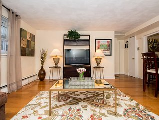 Great 1 bed close to Longwd Med,JP, Fenway, Parking