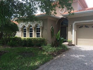 Luxury House, Private Pool In Venice Florida, the Bellagio gated community