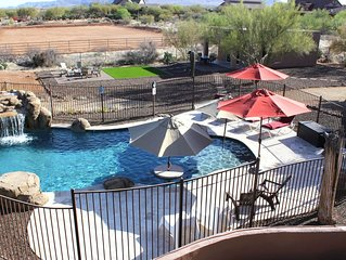 LUXURIOUSLY QUIET N Scottsdale Western Casita w/Pool, Views, Hiking, Golf, RZR!