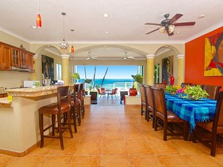 Luxury Beachfront Manzanillo Home with Separate Suites
