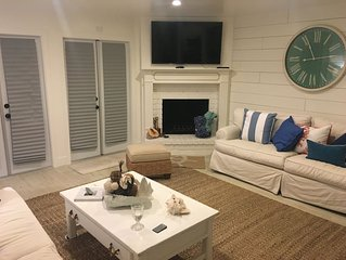 Newly Renovated 2016, One block to Main Street Downtown and Beach!