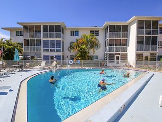 Newly Decorated with Pool Views! Convenient Access-no stairs!