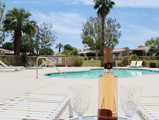 Serene & Immaculate Patio Home with Pool in Guard Gated Community
