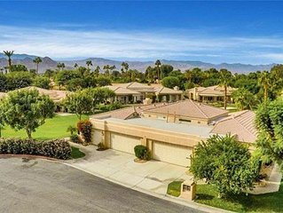 WOW !  HIGHLY UPGRADED  Luxury Desert Vacation Home With Community Pool And Spa