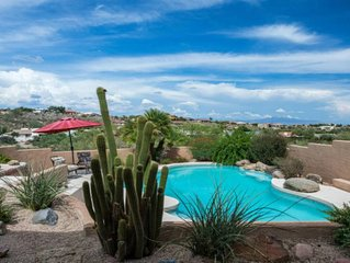 Fountain Hills Home With Heated Pool/Hot Tub and Amazing Views!