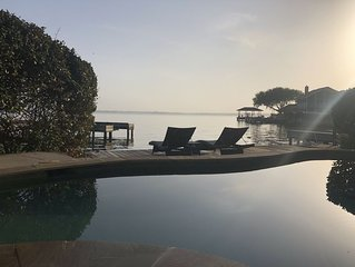 Relaxing Lakefront Escape with Private pool, spa, and lake access