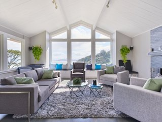 Sausalito summer rental with stunning views of SF skyline and the Bay!