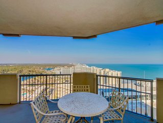Amazing sunrise views from 21st floor : #1 Booked condo in Myrtle Beach