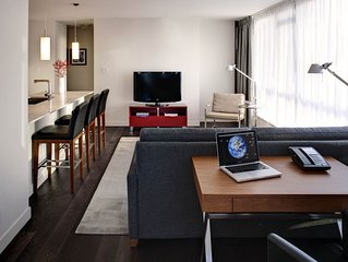 Modern, Beautiully Furnished Two Bedroom Apartment in Downtown Vancouver