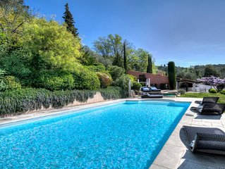 Spacious Family Villa in Medieval Mougins, South of France