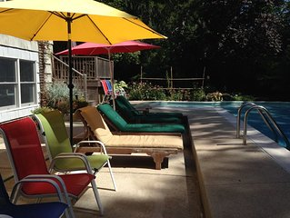 3bdrm-3bath heated salt-water pool, central a/c, all kinds of families welcome