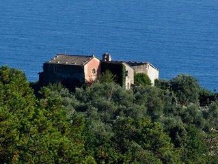 Eremo della Maddalena in Monterosso Cinqueterre , a piece of heaven...