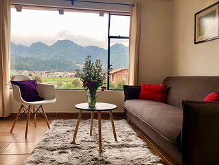 Cozy apartment with an amazing view of the mountains