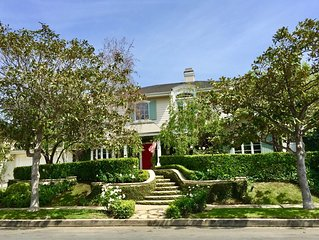 PACIFIC PALISADES LUXURY HOME ~ Pool&Spa! Short walk to the Park, Beach &Village