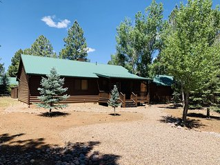 Elk Ridge Cabin; located in Bison Ranch. We are in the White Mountains.