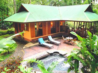 Geckoes Lodge: Romantic Barefoot Luxury & Private Plunge Pool nr Pretty Beaches