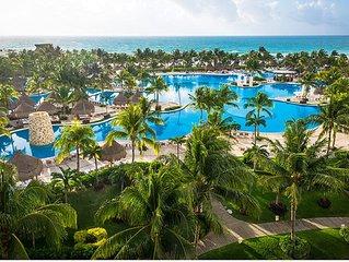 AAA 4 Diamond Resort in Riviera Maya on the beach