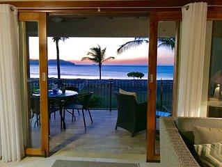 Peaceful, beachfront retreat!