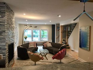 Luxury Gourmet Townhome in downtown Hudson