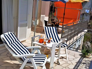 Holiday House Angie in Vinisce, cove Mala Ljubljeva, 70 meters from the sea