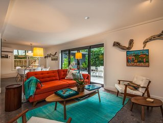 Newly renovated tropical house in the center of Coconut Grove