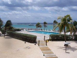 Carib Sands Calm Beach Pool Dock Snorkel Dive