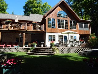 A great place to make wonderful family memories in beautiful lake front home.